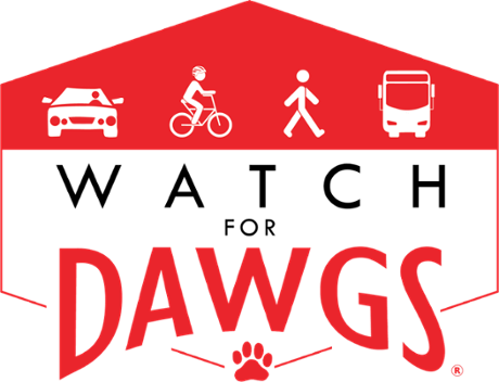 Watch for Dawgs UGA Logo